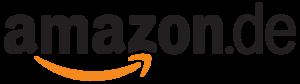 Amazon.de Logo auf weißem Hintergrund